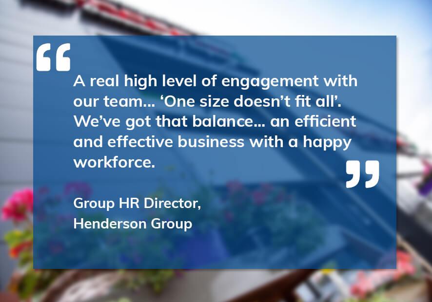 SWL-Henderson Group testimonial 1